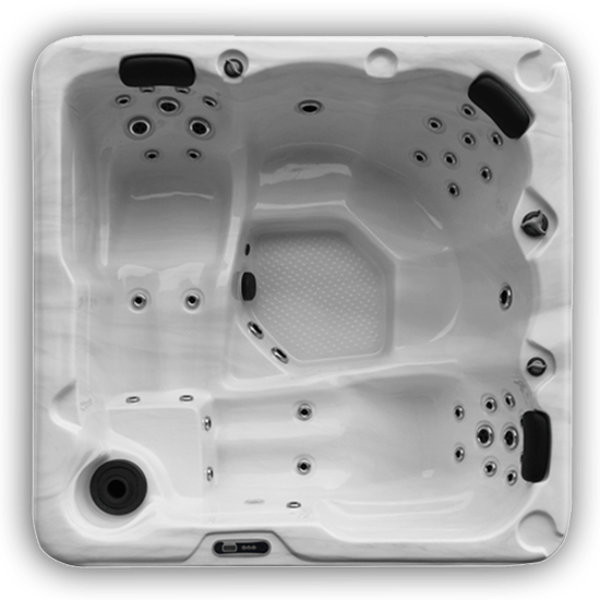 Santa FE II Hot Tub